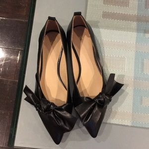 NEW H&M Leather Flats